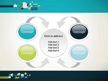 Flat Design Ads PowerPoint Template Slide 6