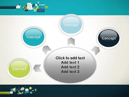 Flat Design Ads PowerPoint Template Slide 7
