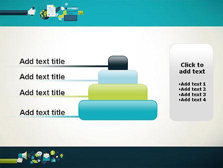 Flat Design Ads PowerPoint Template Slide 8