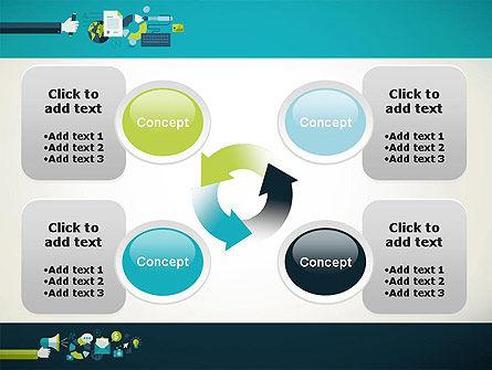 Flat Design Ads PowerPoint Template Slide 9