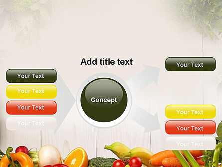 Fruits and Vegetables PowerPoint Template Slide 14