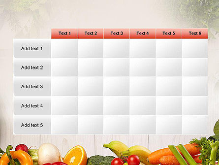 Fruits and Vegetables PowerPoint Template Slide 15