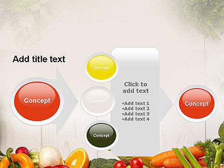 Fruits and Vegetables PowerPoint Template Slide 17