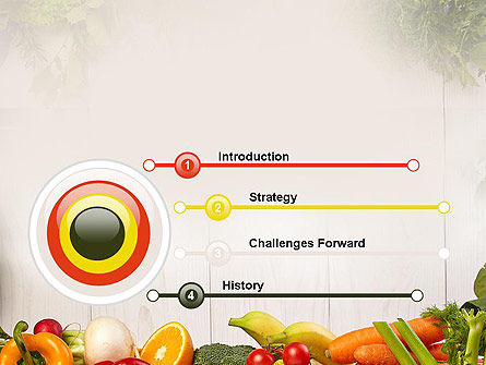 Fruits and Vegetables PowerPoint Template, Slide 3, 13782, Agriculture — PoweredTemplate.com