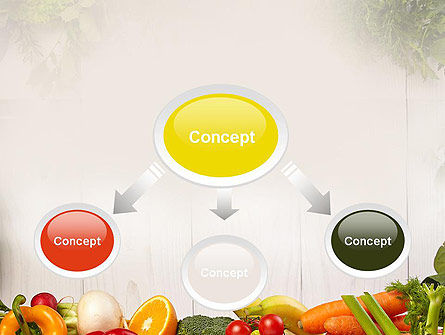Fruits and Vegetables PowerPoint Template, Slide 4, 13782, Agriculture — PoweredTemplate.com