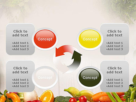 Fruits and Vegetables PowerPoint Template Slide 9