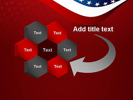 USA Patriotic Themed PowerPoint Template Slide 11