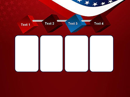 USA Patriotic Themed PowerPoint Template Slide 18