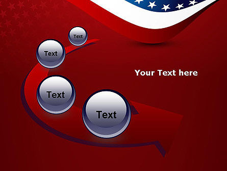 USA Patriotic Themed PowerPoint Template Slide 6