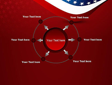 USA Patriotic Themed PowerPoint Template Slide 7