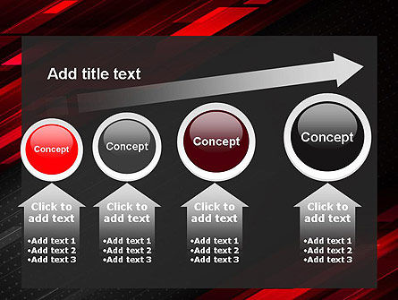 Tech Fast-Moving Abstract PowerPoint Template Slide 13