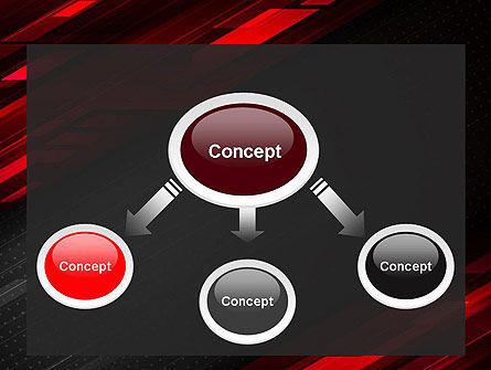 Tech Fast-Moving Abstract PowerPoint Template Slide 4