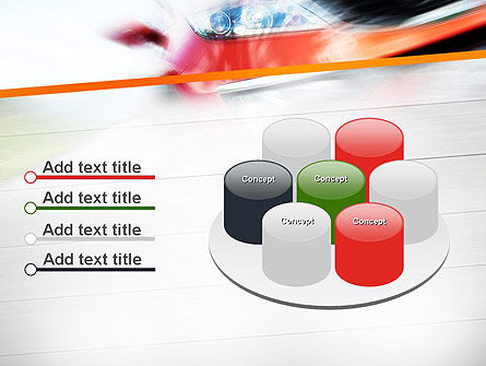 Speedy Car PowerPoint Template Slide 12