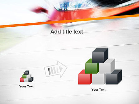 Speedy Car PowerPoint Template Slide 13