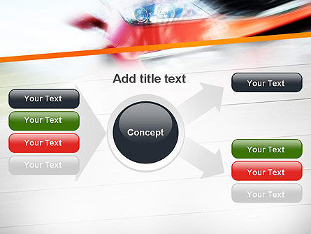 Speedy Car PowerPoint Template Slide 15