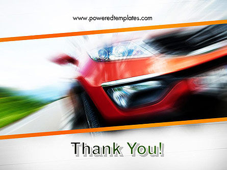 Speedy Car PowerPoint Template Slide 20