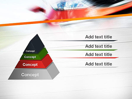 Speedy Car PowerPoint Template Slide 4