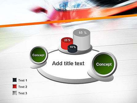 Speedy Car PowerPoint Template Slide 6