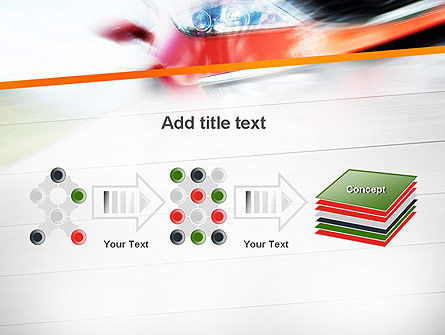 Speedy Car PowerPoint Template Slide 9