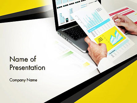 Accounting Services PowerPoint Template, 13792, Financial/Accounting — PoweredTemplate.com