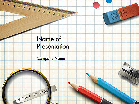 Education & Training: Welcome Back To School PowerPoint Template #13795