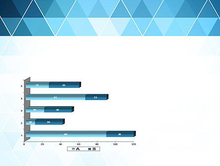 Blue Triangles PowerPoint Template Slide 11
