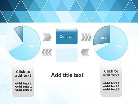 Blue Triangles PowerPoint Template Slide 16