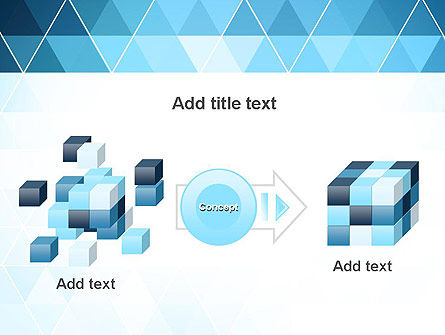 Blue Triangles PowerPoint Template Slide 17