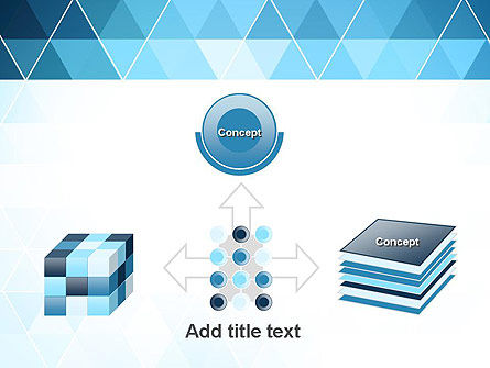Blue Triangles PowerPoint Template Slide 19