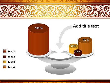 Arabesque PowerPoint Template Slide 10