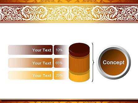Arabesque PowerPoint Template Slide 11