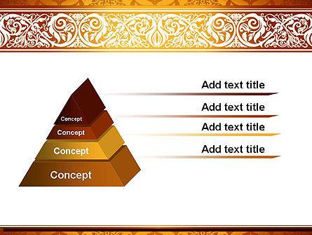 Arabesque PowerPoint Template Slide 12