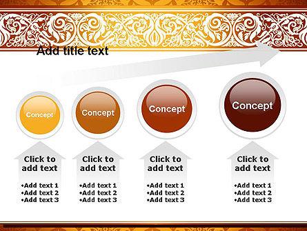 Arabesque PowerPoint Template Slide 13