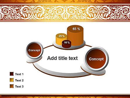 Arabesque PowerPoint Template Slide 16
