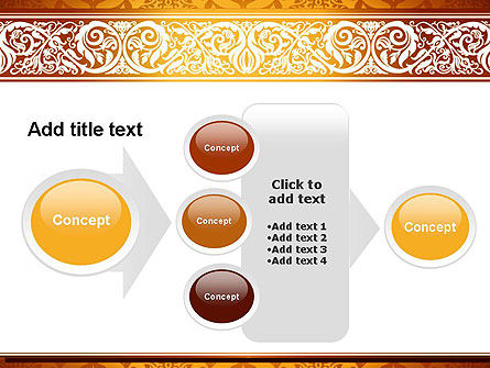 Arabesque PowerPoint Template Slide 17