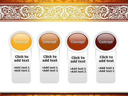 Arabesque PowerPoint Template Slide 5