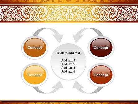 Arabesque PowerPoint Template Slide 6