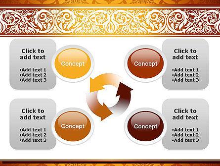 Arabesque PowerPoint Template Slide 9