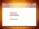 Abstract/Textures: Arabesque PowerPoint Template #13799