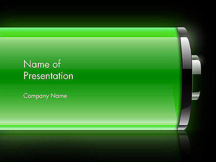 Battery Saving Tips PowerPoint Template, 13801, Technology and Science — PoweredTemplate.com