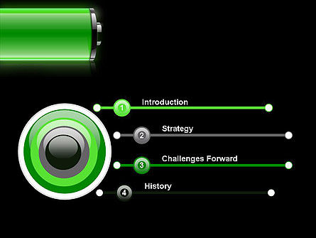 Battery Saving Tips PowerPoint Template, Slide 3, 13801, Technology and Science — PoweredTemplate.com