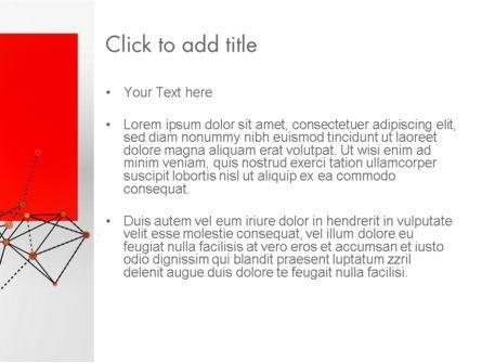 Polygonal Connections PowerPoint Template, Slide 3, 13802, Business — PoweredTemplate.com