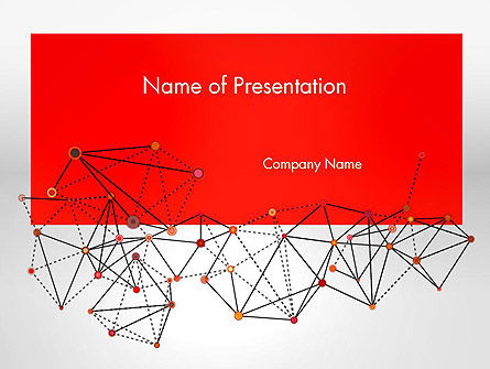 Polygonal Connections PowerPoint Template