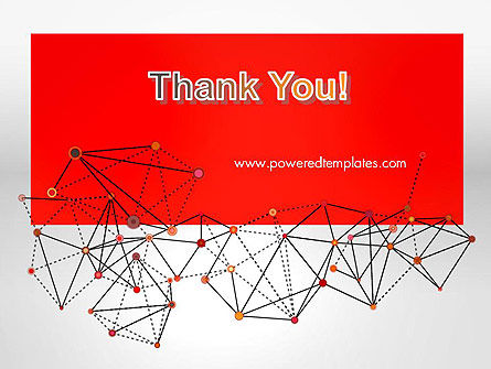 Polygonal Connections PowerPoint Template Slide 20