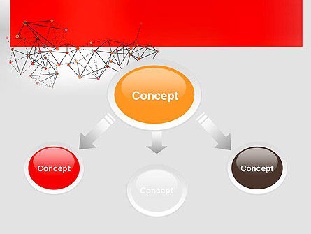 Polygonal Connections PowerPoint Template Slide 4