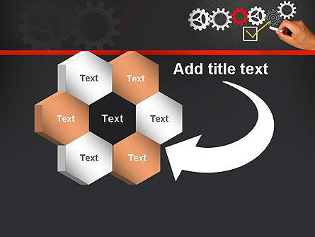 Solution With Gear Concept PowerPoint Template Slide 11