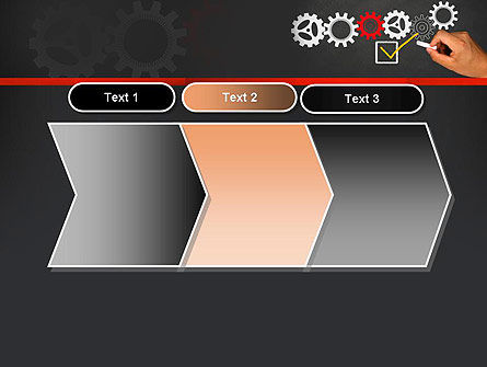 Solution With Gear Concept PowerPoint Template Slide 16