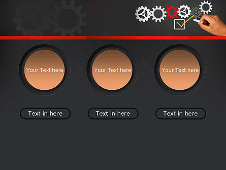 Solution With Gear Concept PowerPoint Template Slide 5