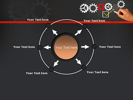 Solution With Gear Concept PowerPoint Template Slide 7