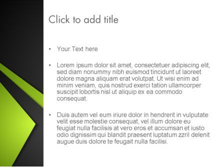 Technological Background PowerPoint Template, Slide 3, 13804, Abstract/Textures — PoweredTemplate.com